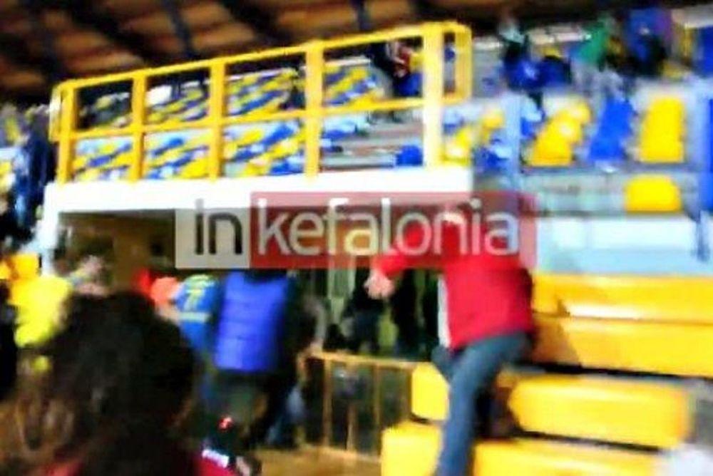 ΕΣΚΑ-H: Χαμός στο Αργοστόλι από τον σεισμό (video)