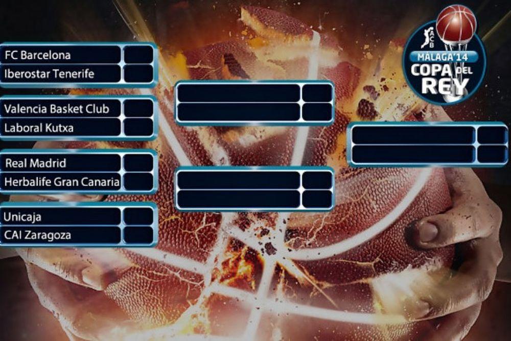 Κύπελλο Ισπανίας: Μόνο στον τελικό Ρεάλ και Μπαρτσελόνα (photos)
