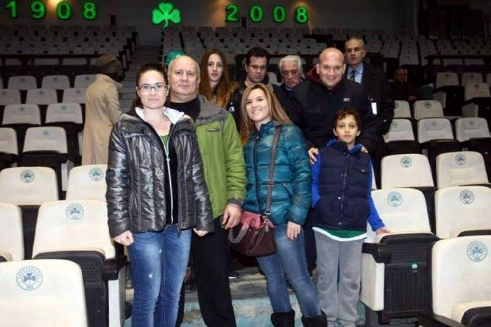 Παναθηναϊκός: Η ξενάγηση στη «Λεωφόρο» με Πλατανιά! (photos)