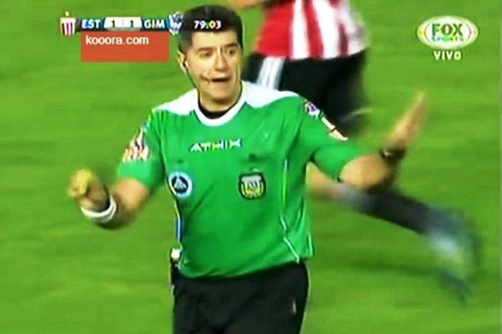 Διαιτητής κατάργησε την κίτρινη κάρτα! (video)