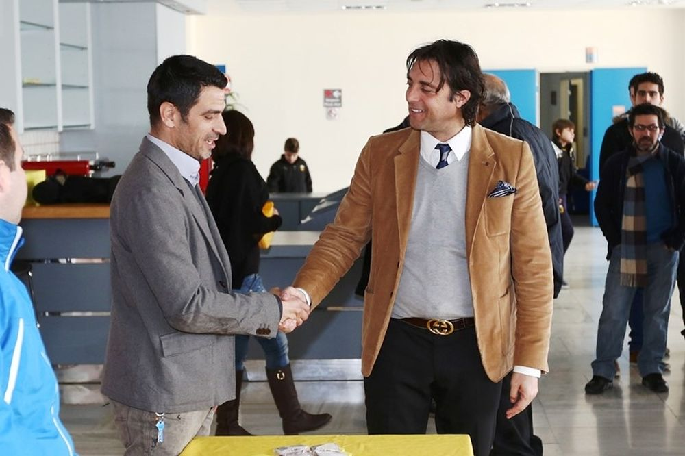 AEΚ: Κοπή της πίτας των Ακαδημιών (photos)