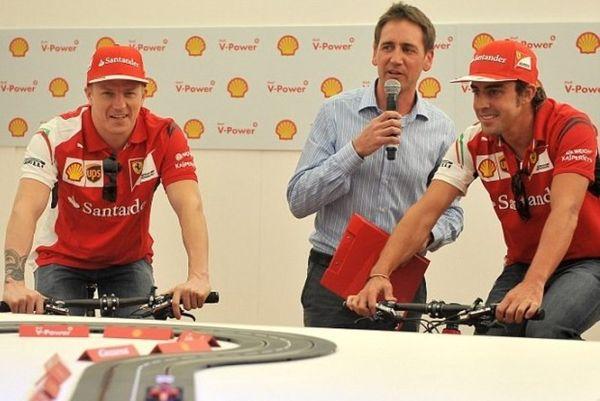Ferrari: Ζωή... ποδήλατο για Αλόνσο και Ραϊκόνεν (photos)