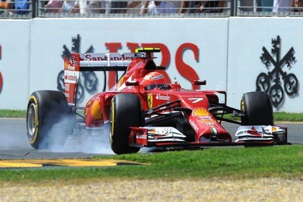 Formula 1: Το τρακάρισμα του Ραϊκόνεν (video)