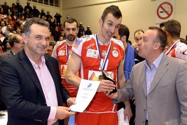 Ολυμπιακός: MVP ο Ιορντάνοφ