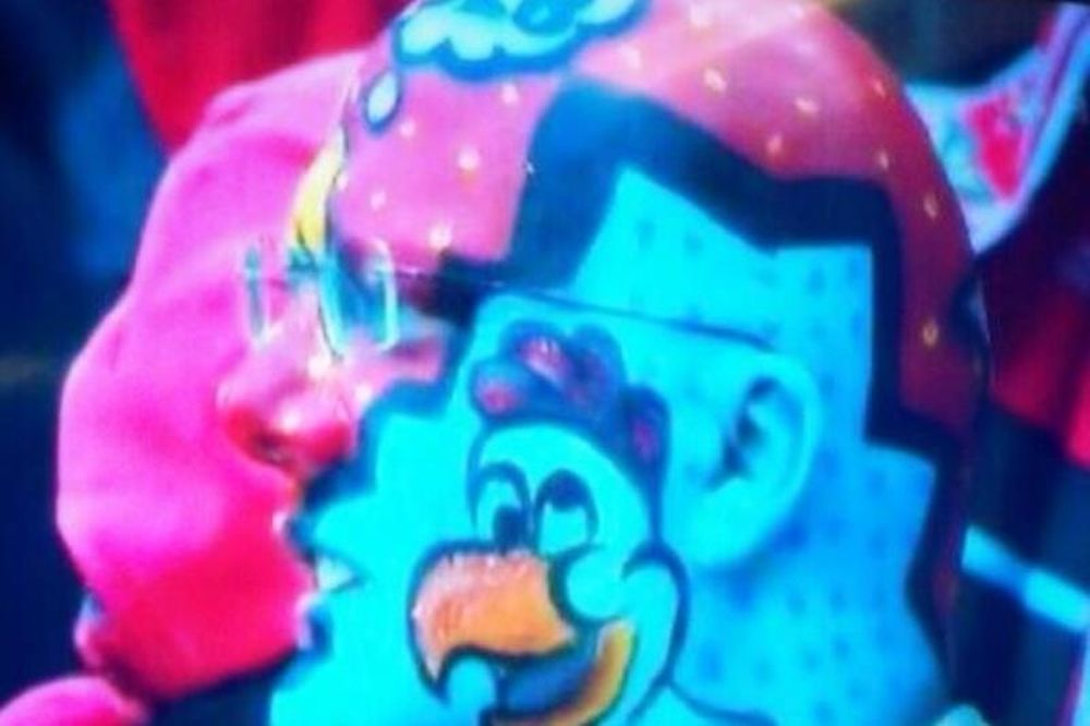 Μπενφίκα: Ο πιο... πολύχρωμος οπαδός! (photo)