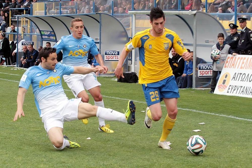 Παναιτωλικός-Αστέρας Τρίπολης 0-1: Το γκολ και οι καλύτερες φάσεις (video)