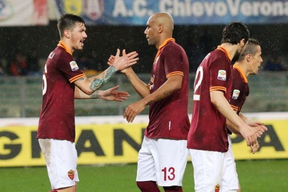 Άνετα η Ρόμα, 2-0 την Κιέβο