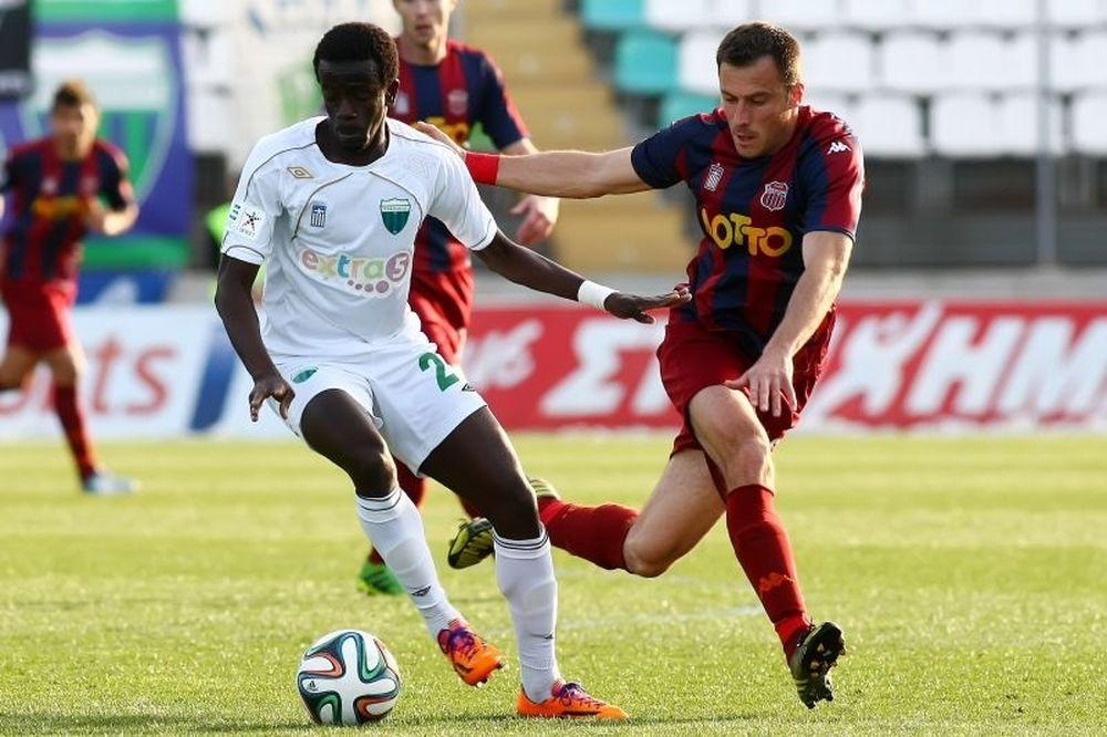 Λεβαδειακός-Βέροια 2-0: Τα γκολ του αγώνα (video)