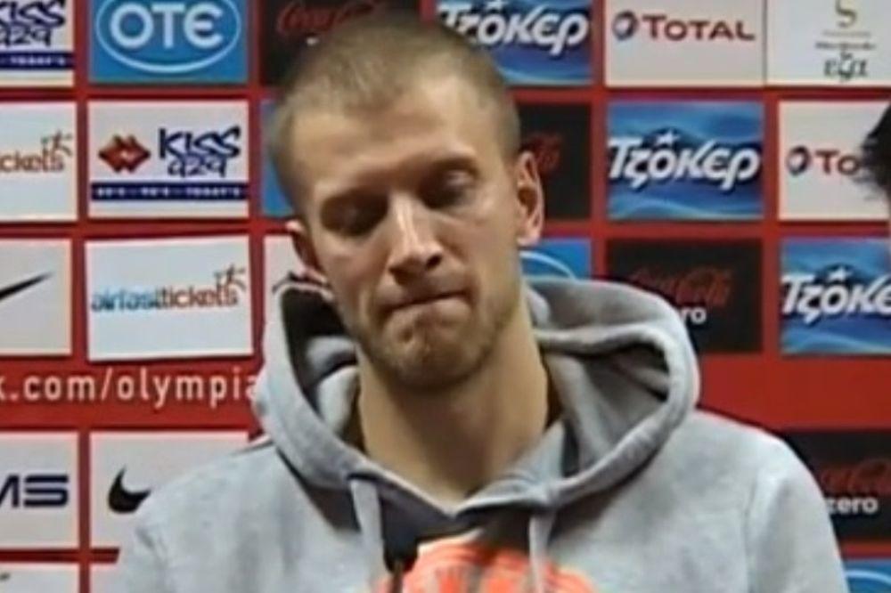 Ούζας: «Χαζά λάθη με Ολυμπιακό»