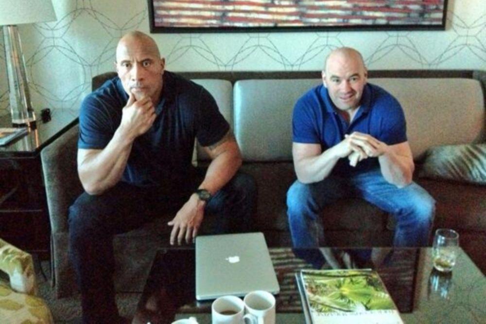 UFC: Παρέα White και Rock