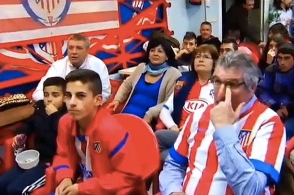 Ατλέτικο Μαδρίτης: Ξεσάλωσαν με τα γκολ της Μπαρτσελόνα στη Ρεάλ (video)