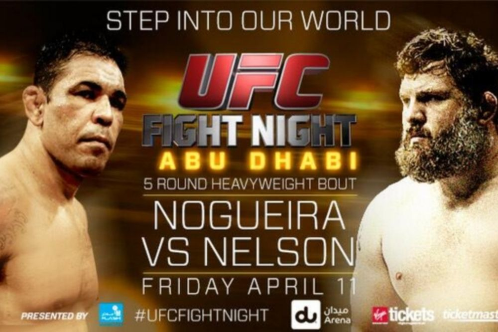 UFC Fight Night 40: Preview για το «Nogueira vs Nelson»
