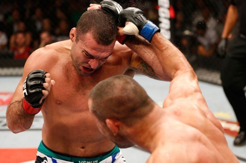 UFC: Σπασμένη μύτη ο «Shogun»