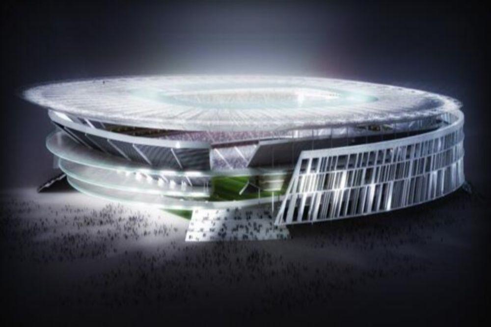 Παρουσιάστηκε το «Stadio della Roma»! (photos)