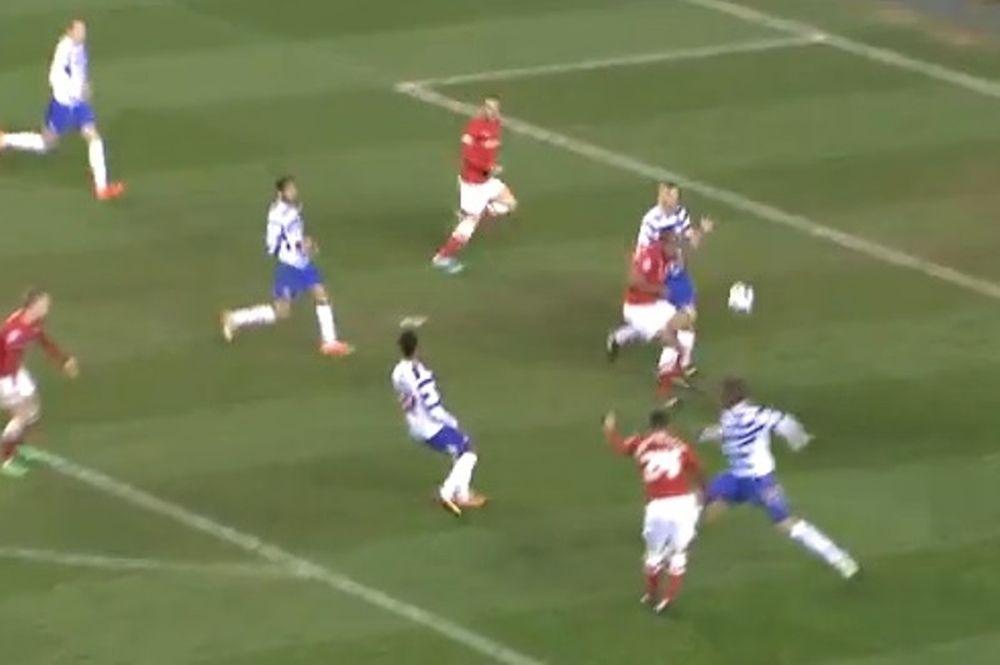 Φανταστικό γκολ: Λάζαρους... δεύρο έξω! (video)