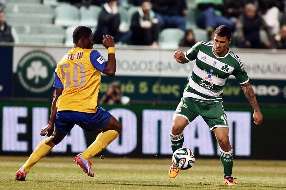Παναθηναϊκός-ΑΕΛ Καλλονής 3-0: Τα γκολ του αγώνα (video)