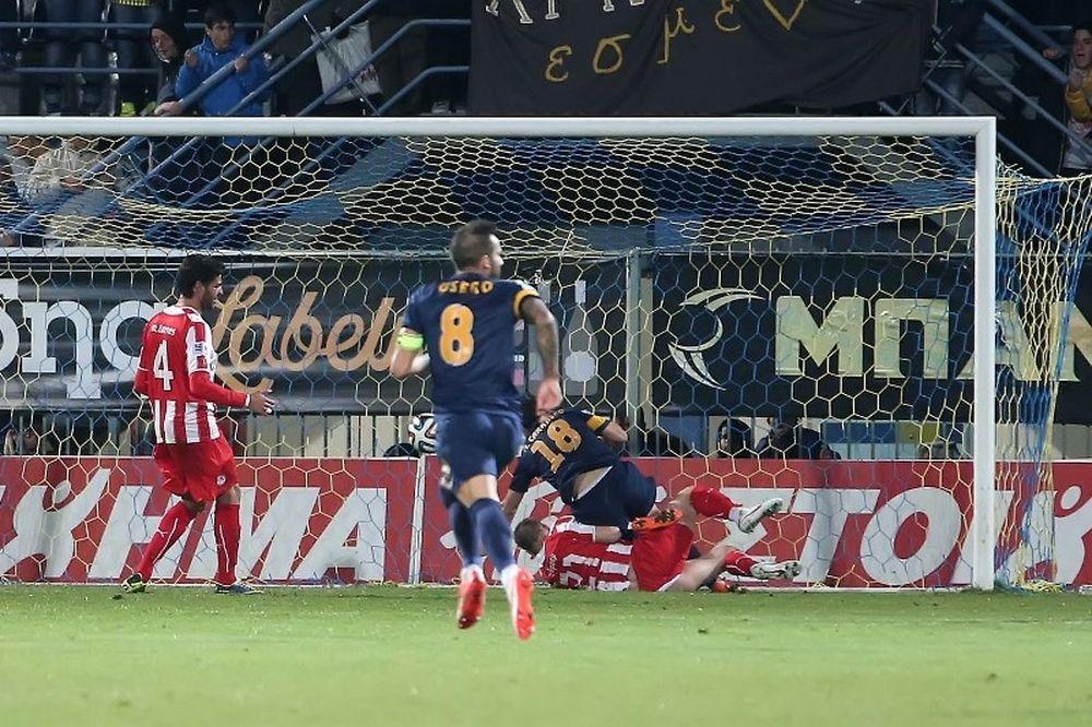 Αστέρας Τρίπολης-Ολυμπιακός 2-1: Τα γκολ του αγώνα (video)