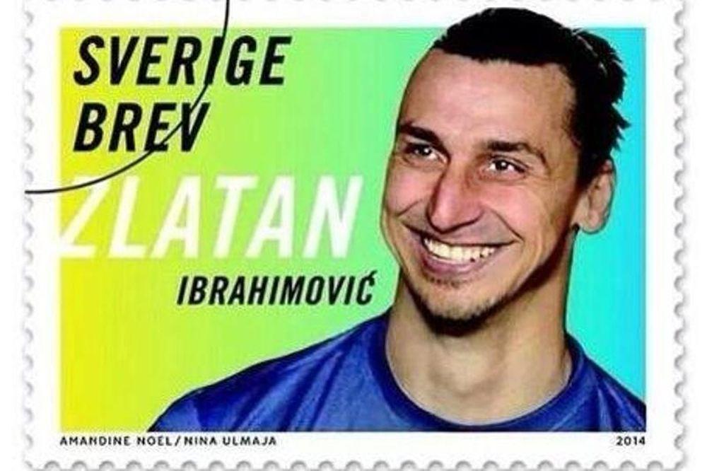Ζλάταν Ιμπραΐμοβιτς: Σε γραμματόσημα το γκολ του στην Αγγλία (photos+video)