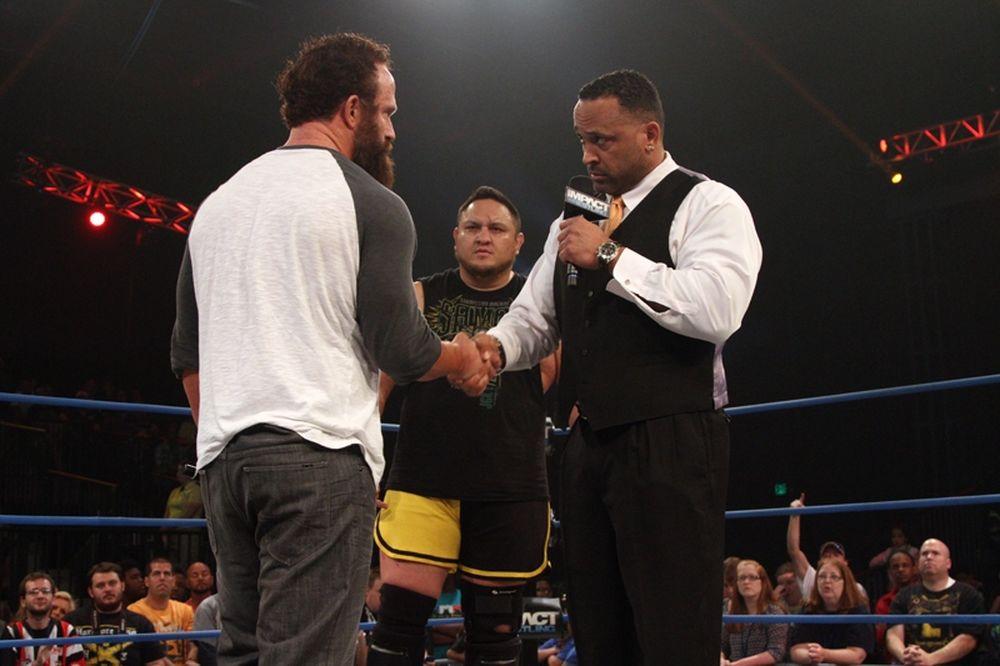 ΤΝΑ Impact Wrestling: Αγώνας για MVP (photos+videos)
