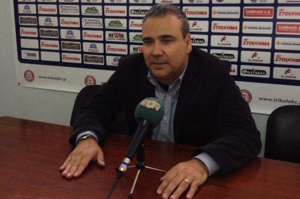 Φλεβαράκης: «Δεν πετάμε στα σύννεφα, ενόψει Ολυμπιακού»