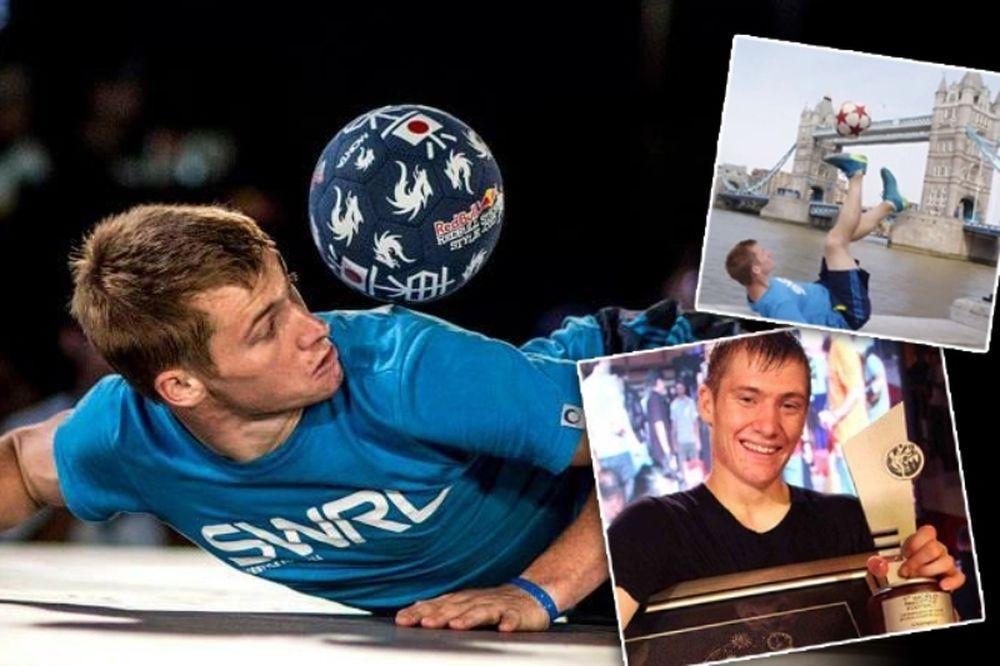 Ο παγκόσμιος freestyler ποδοσφαίρου στο Onsports: «Εγώ και ο Μέσι» (photos+videos)