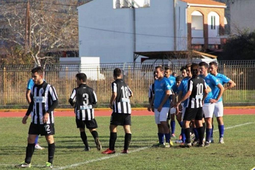 ΠΑΟΚ-ΑΕΛ Καλλονής 1-1 (Κ20)