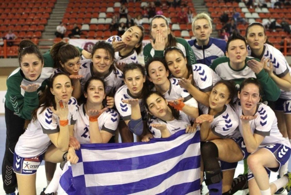 Εθνική Χάντμπολ Γυναικών: «Χάλκινη» στη Λάρισα
