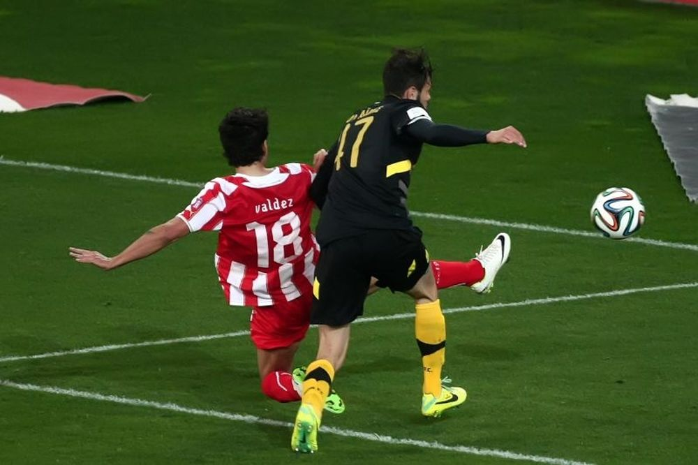 Ολυμπιακός-Άρης 1-0: Το γκολ του αγώνα (video)