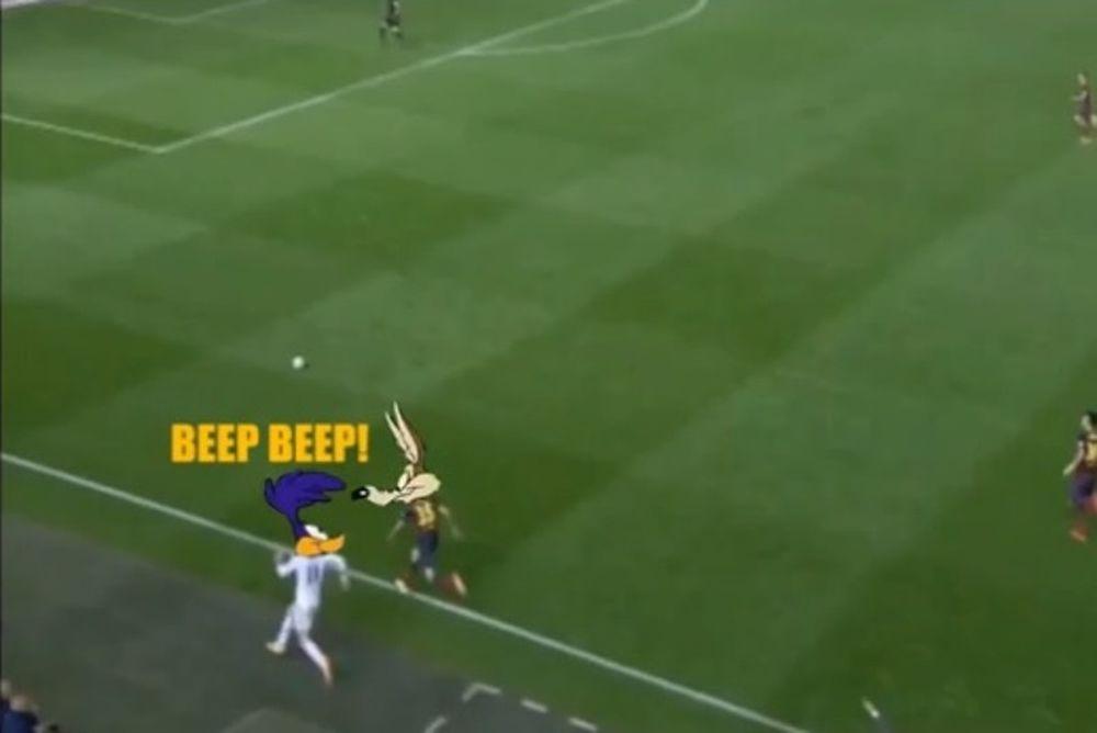 Ρεάλ Μαδρίτης: Το γκολ του Μπέιλ από τον... Μπιπ Μπιπ! (video)