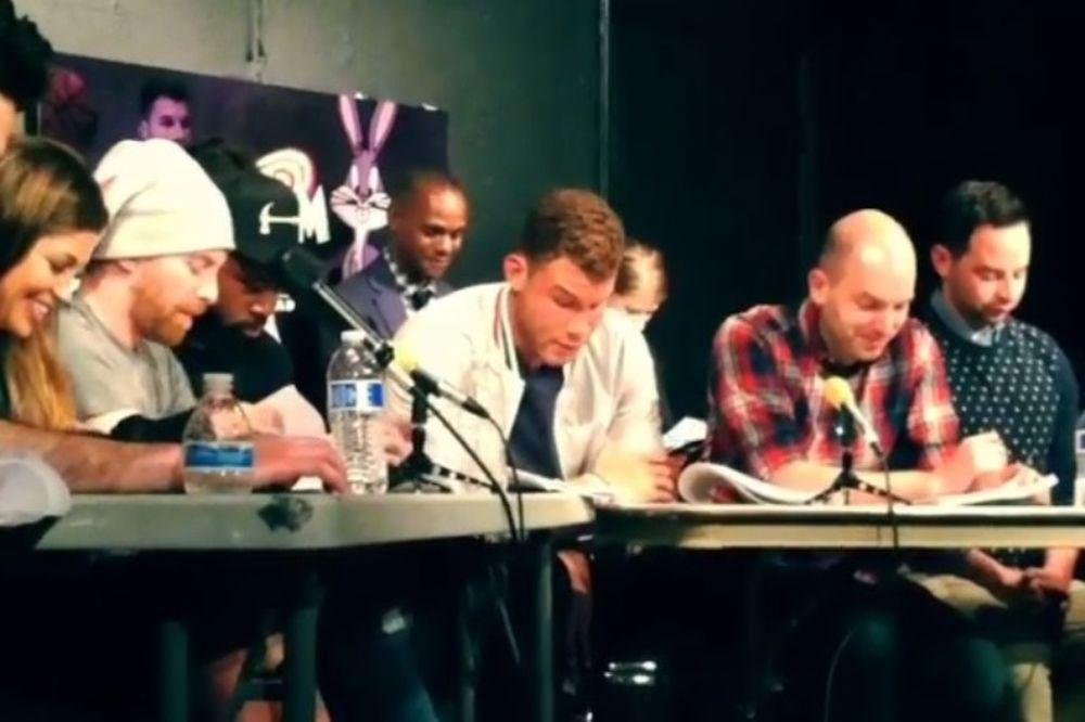 NBA: Γκρίφιν και Τζόρνταν απαγγέλουν το «Space Jam»! (videos)