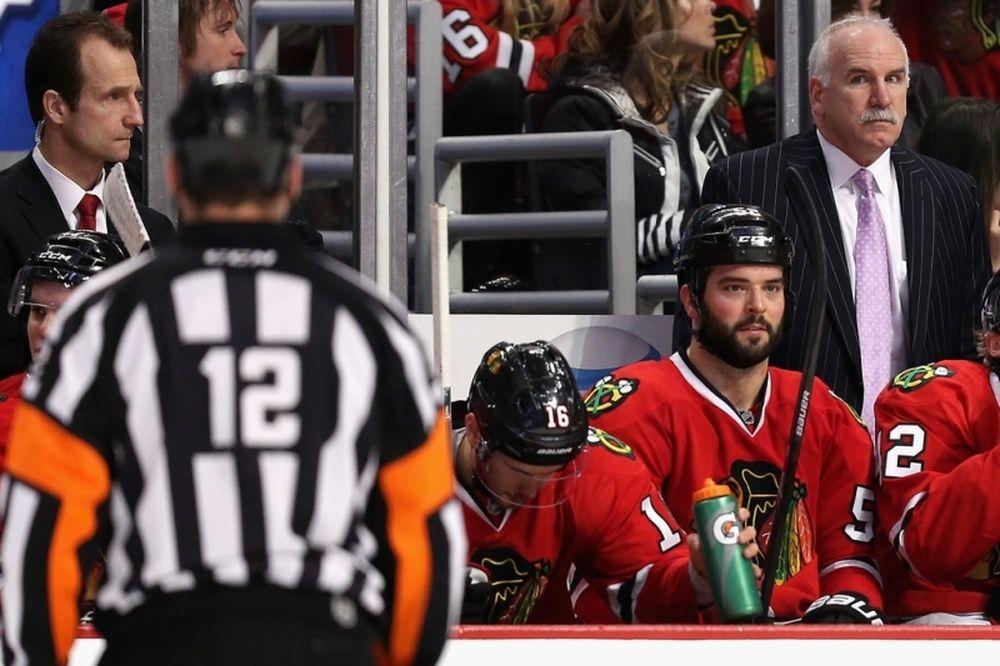 NHL: Τα «έδειξε» στους διαιτητές ο Quenneville (video)