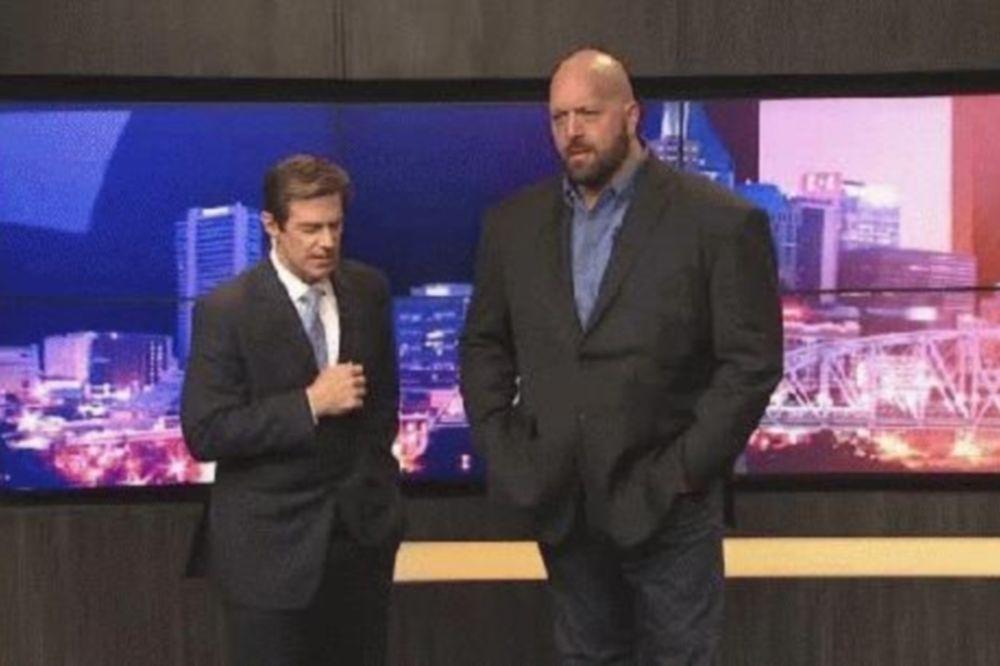 WWE: Γιγαντιαίο… δελτίο καιρού (video)