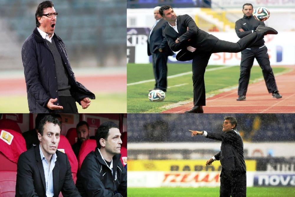 Οι προπονητές στο μεγαλείο τους! (photos)