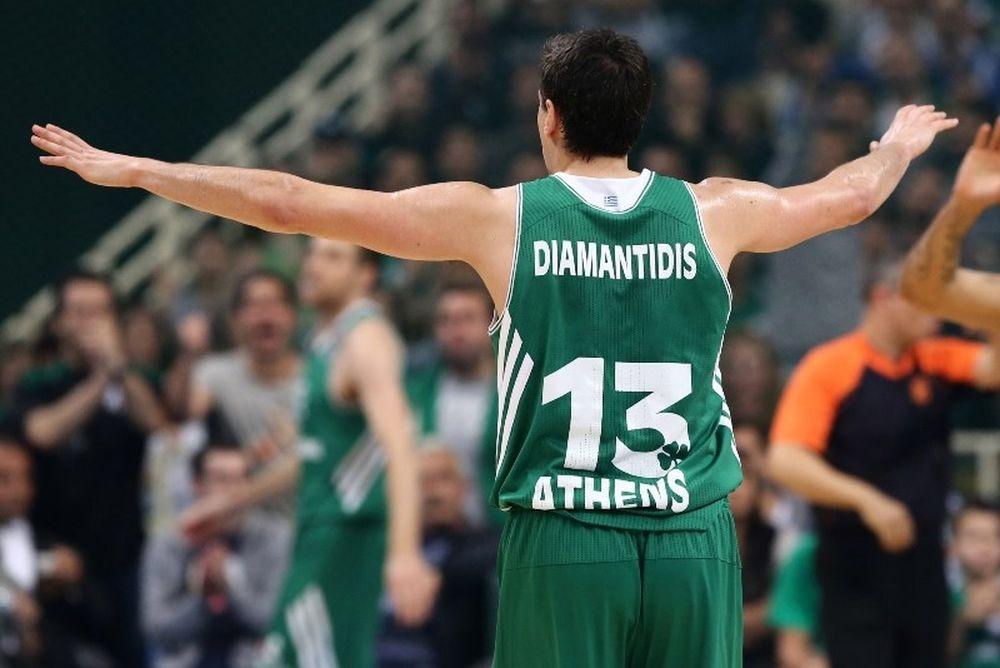 Παναθηναϊκός: Το ρεκόρ του Διαμαντίδη (video)