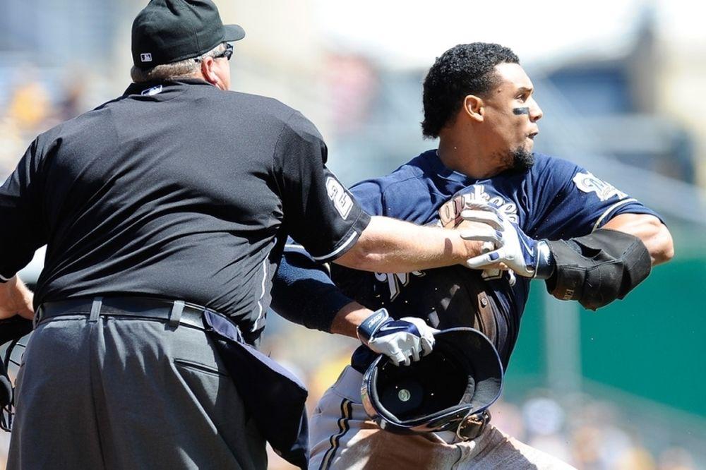 MLB: Τέσσερις «καμπάνες» για τον καυγά των Μπρούερς και Πάιρετς (video)