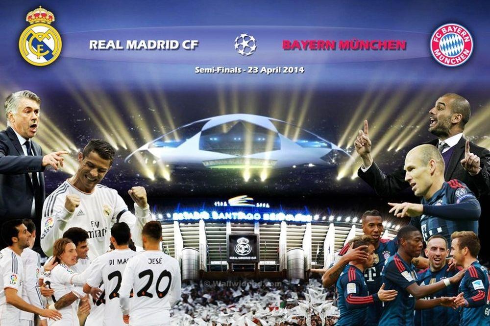 Ρεάλ Μαδρίτης – Μπάγερν Μονάχου: Πρόωρος τελικός