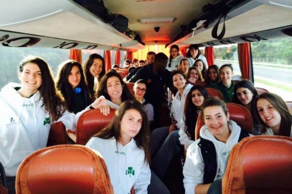 Πανελλήνιο Πρωτάθλημα Νεανίδων: Με το… δεξί ο Παναθηναϊκός
