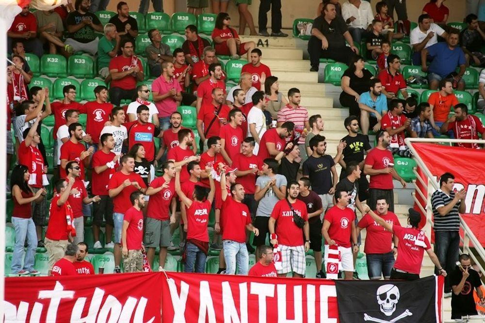 Super League: Πρόστιμο 8.000 ευρώ στην Ξάνθη
