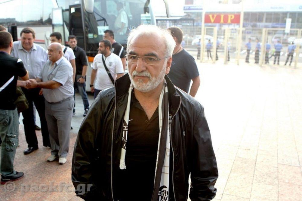 ΠΑΟΚ: Έφτασε Αθήνα ο Σαββίδης