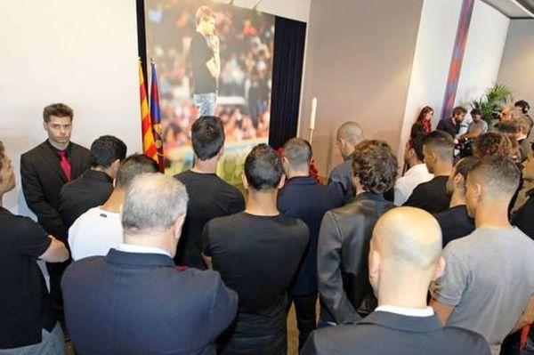 Μπαρτσελόνα: Το αντίο στον Τίτο (photos)