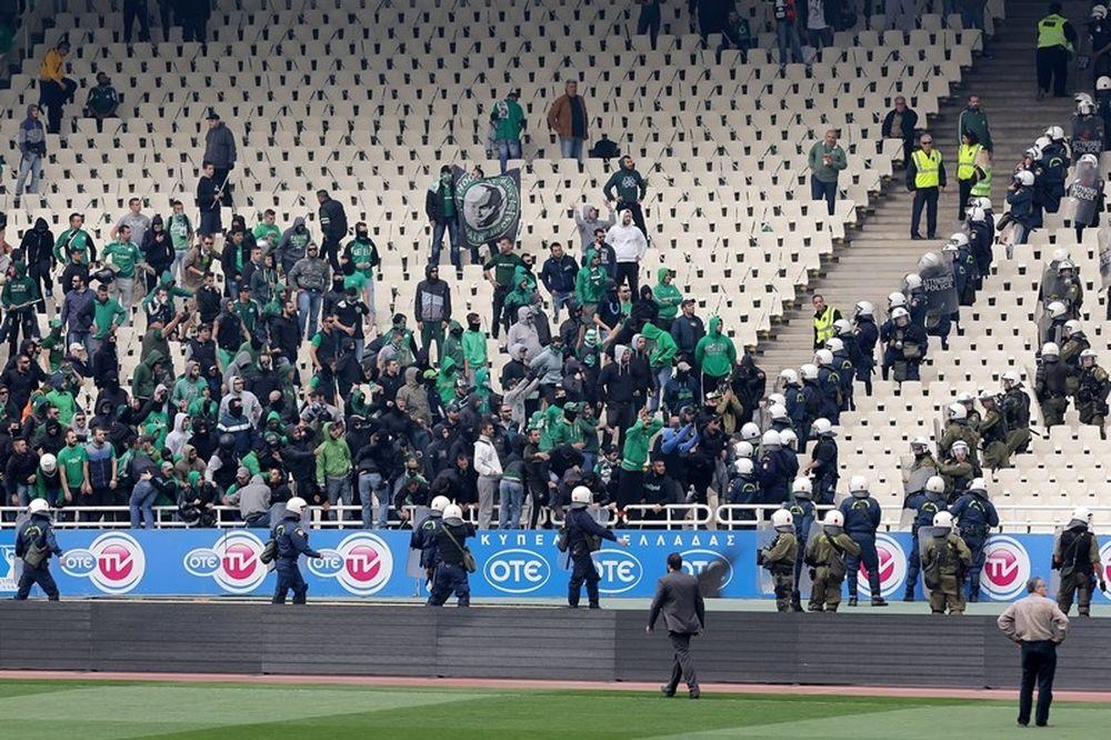 ΠΑΟΚ-Παναθηναϊκός: 34 συλλήψεις πριν τον τελικό