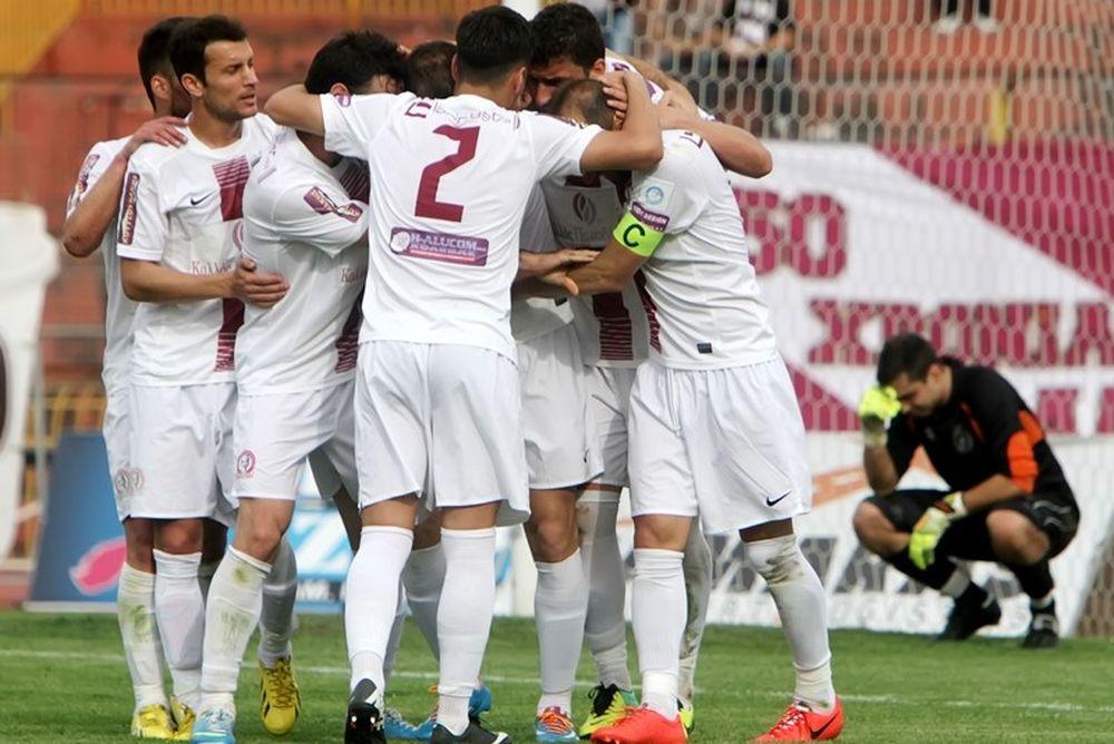 Λάρισα-Καστοριά 2-1