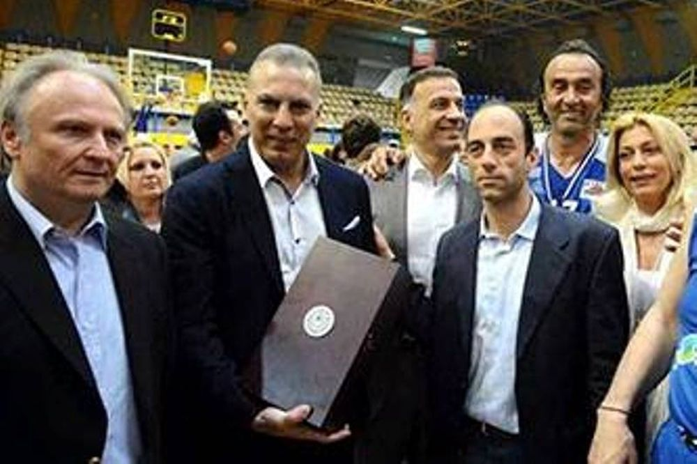 Σύλλογος Ελλήνων Ολυμπιονικών: Επίτιμο μέλος ο Γκάλης