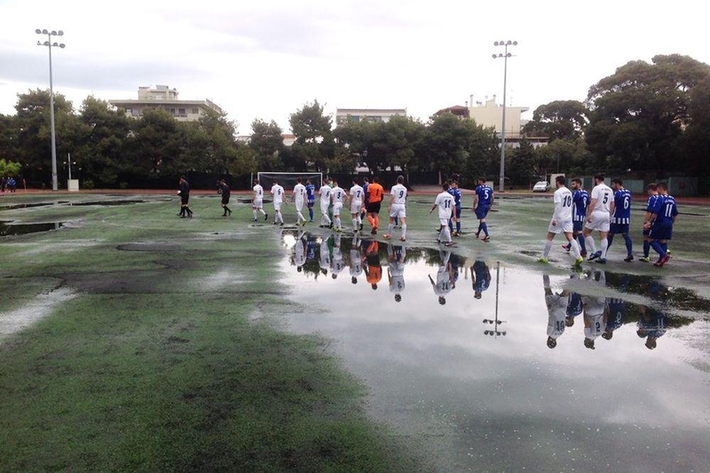 Πεύκη-Ιωνικός: Νέα αναβολή λόγω βροχής