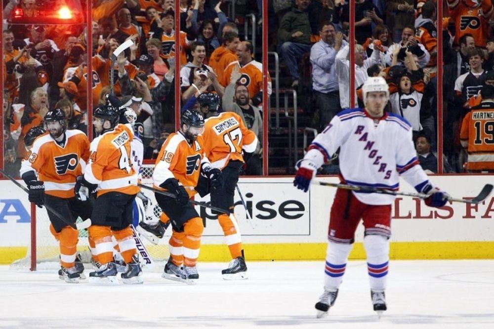 NHL: Σε έβδομο ματς Φλάιερς και Ρέιντζερς (video)
