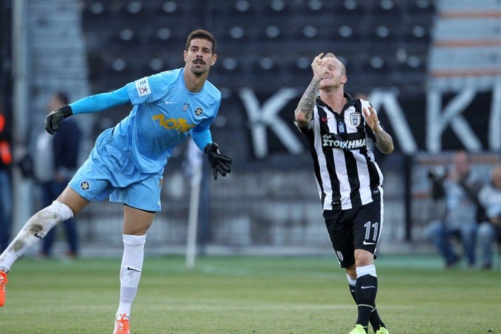 ΠΑΟΚ-Αστέρας Τρίπολης 1-1: Σήκωσε... τοίχο ο Ερνάντεζ (video)