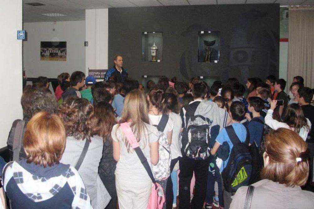 ΠΑΟΚ: Υψηλοί προσκεκλημένοι στην Πυλαία