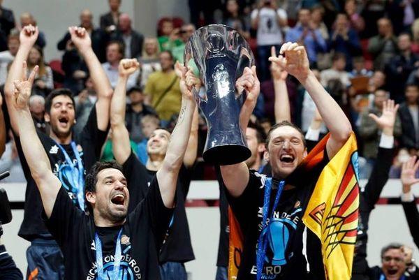 Βαλένθια: Οι πανηγυρισμοί για το Eurocup (photos+video)