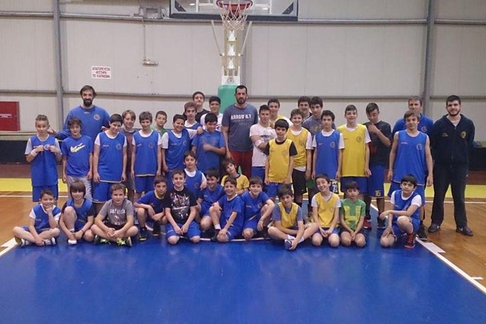 Ψυχικό: To πρώτο «AΕΨ Basketball Summer Camp»