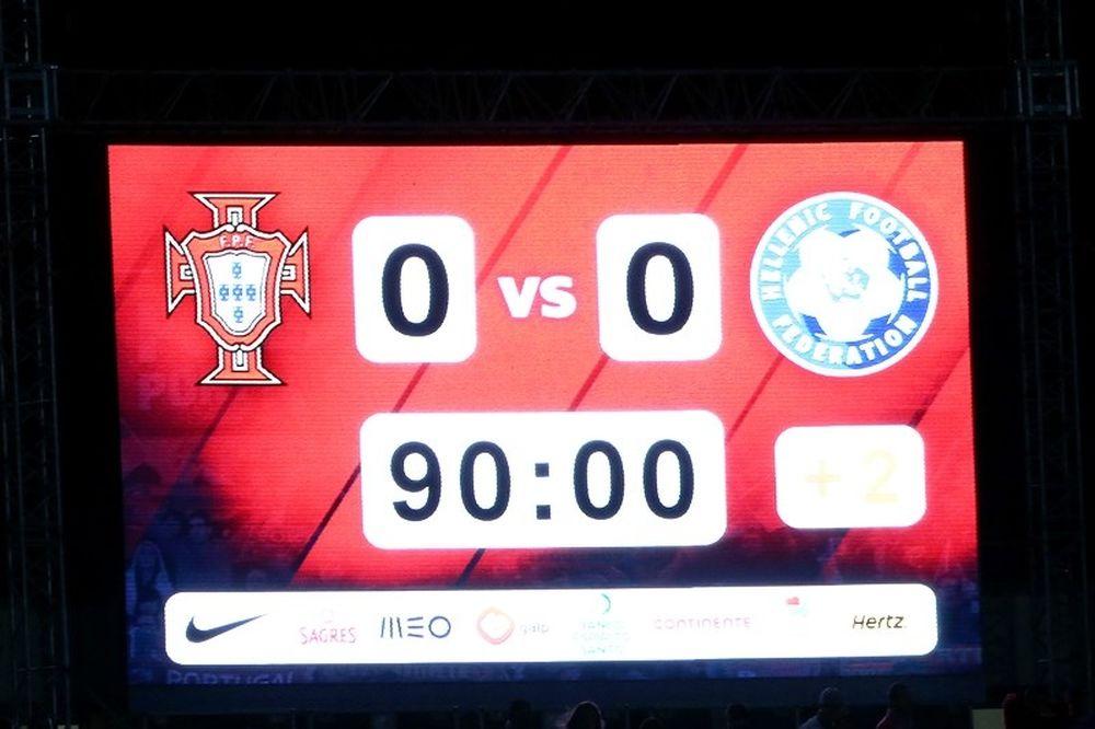 Πορτογαλία – Ελλάδα 0-0: Το παιχνίδι σε φωτογραφίες (photos)